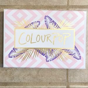 Colourpop eyeshadow box
